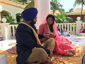 Sikh Wedding Barcelo Riviera Maya Mexico