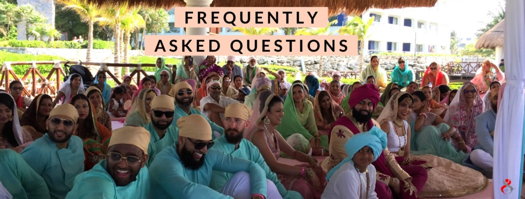 Indian Sikh Destination Wedding Priest